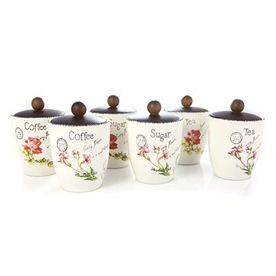 Set 3 recipiente din ceramica 2 modele |   NobilaCasa